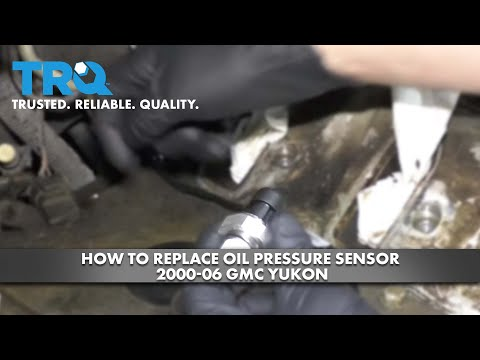 How to Replace Oil Pressure Sensor 2000-06 GMC Yukon