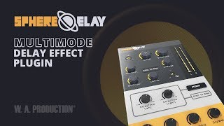 spheredelay multimode delay effect plugin vst vst3 au aax