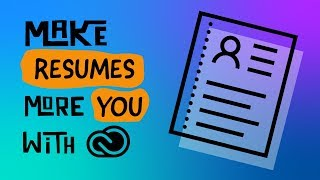 Make Resumes More You with Creative Cloud | Live event