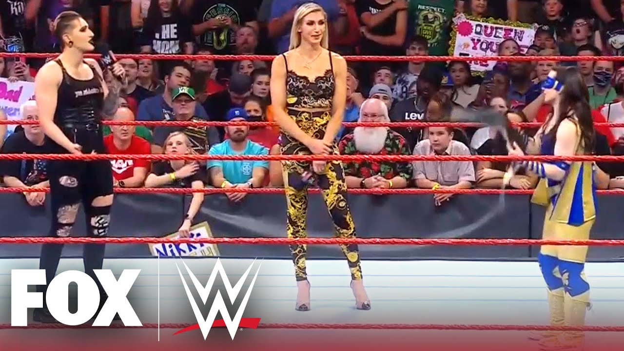 Nikki A.S.H. to defend Raw Title vs. Rhea Ripley and Charlotte Flair   MONDAY NIGHT RAW