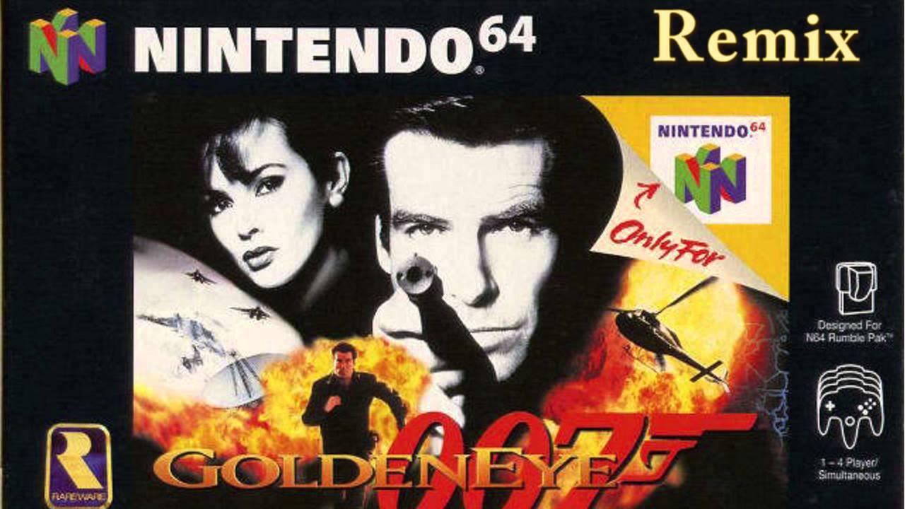 soundtrack 007 goldeneye n64