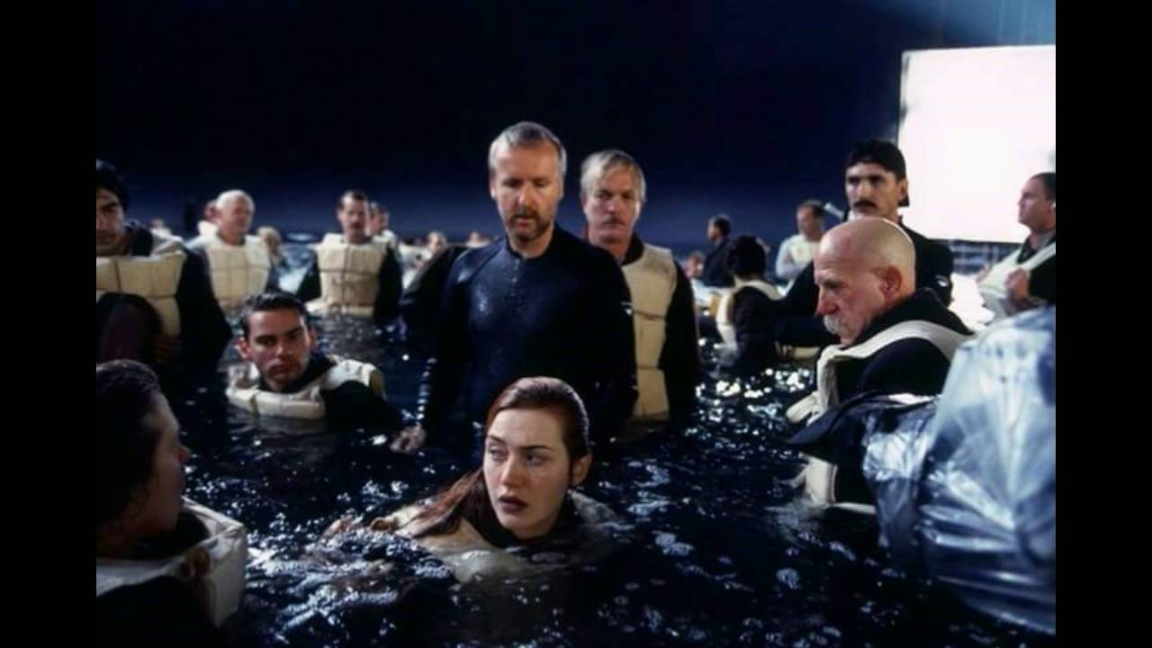 SEXY pictures of TITANIC movie making,