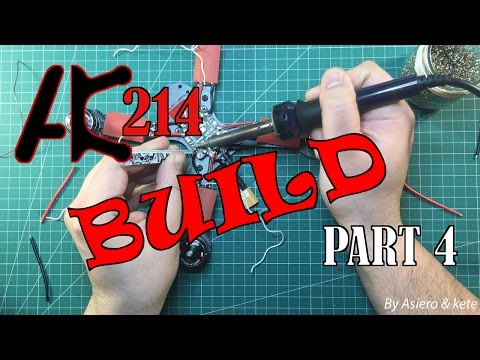 AK214   Build   Part 4: Conecting all PDB wires