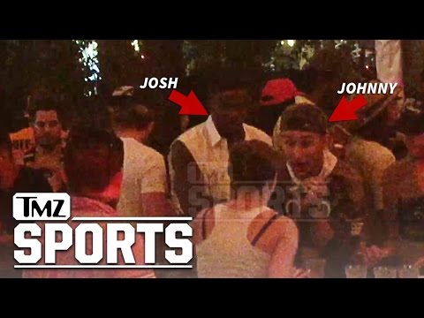 NFL's Josh Gordon Partying with Manziel at Coachella | TMZ Sports