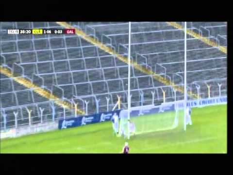 Shane O'Donnell wide given as a point in Under 21 game between Clare and Galway