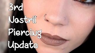 Nostril Piercing | 1 Month Update | Piercing BUMPS!