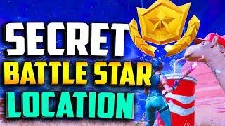 WEEK 4 SECRET BATTLE STAR SEASON 5 LOCATION! - Fortnite Road Trip Week 4 Secret battle star