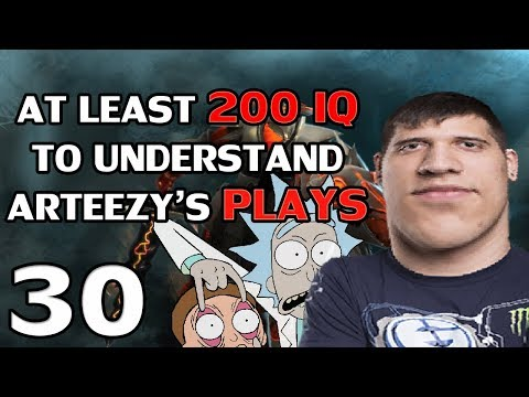 (with CHAT) Arteezy - Best Moments #30 - 200 IQ PLAYS ft TACTICIAN ARTEEZY