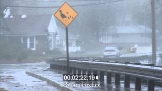 Hurricane Sandy 2012 - New Jersey, Storm Chaser footage 1080p