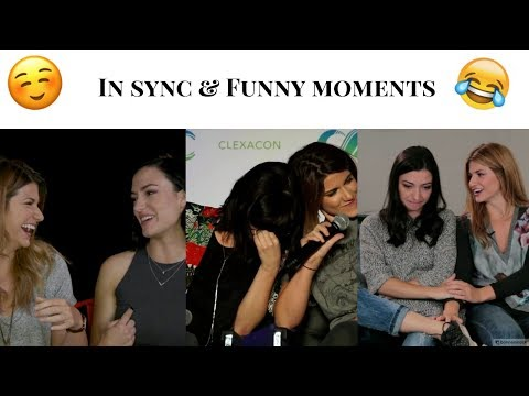 Elise Bauman & Natasha Negovanlis  In sync, funny and beautiful moments