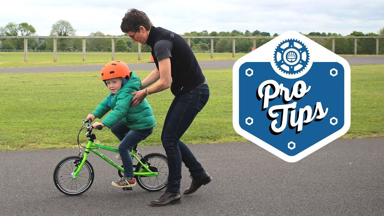 18f5a1771c1 Teach Your Kid How To Ride A Bike - YouTube