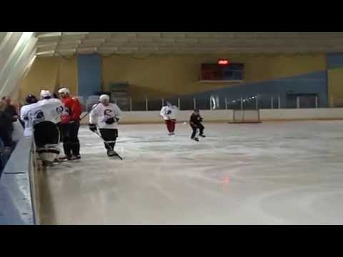 Besa Tsintsadze's power skating video with S.Gonchar & E.Malkin - part1