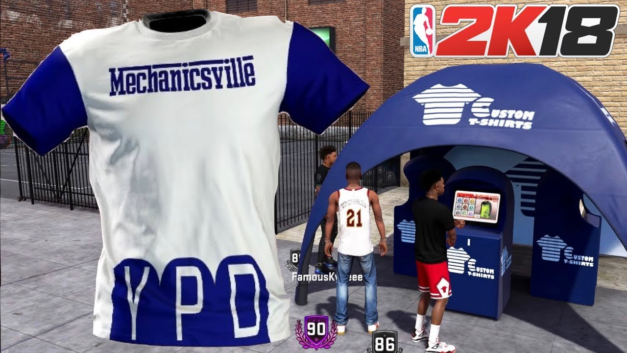 57256a8e8 NBA 2K18 | CUSTOM T-SHIRT VOTING | VOTE FOR VOTE - YouTube