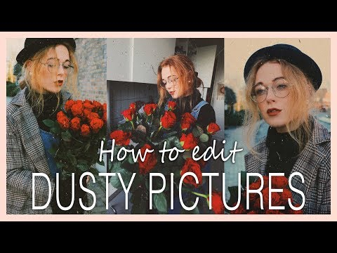 How to edit dusty oldschool pictures with apps