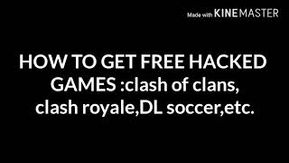 BEST WAY TO GET ONLINE AND OFFLINE HACKED GAMES DOWNLOAD NO ROOT