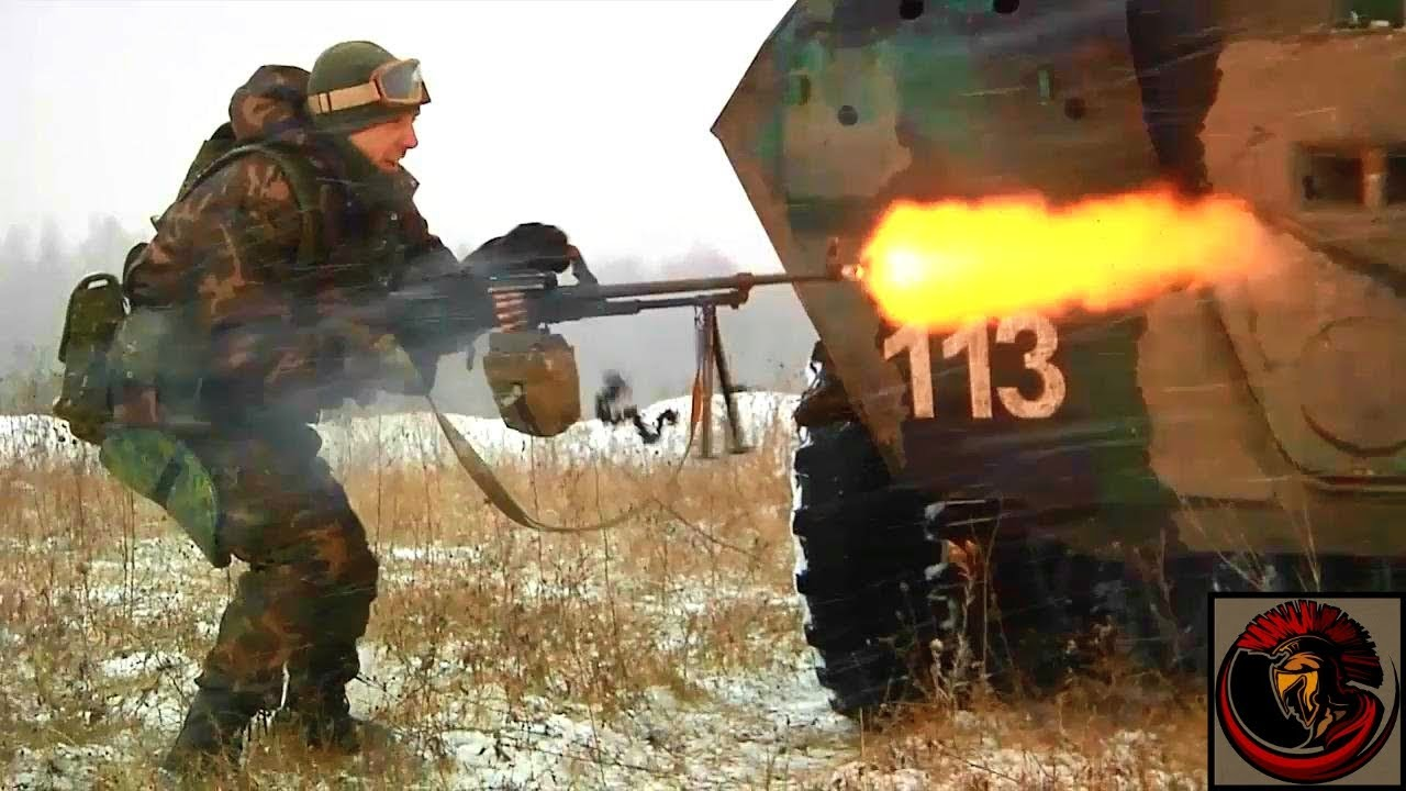 Russian Military Firepower Demonstration | Military Training Exercise