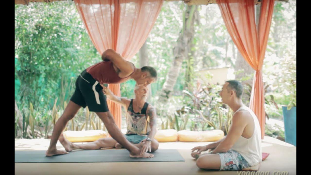 Ashtanga Yoga and Forward Folding with Mark Darby