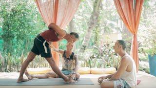 Video Ashtanga Yoga and Forward Folding with Mark Darby download MP3, 3GP, MP4, WEBM, AVI, FLV Mei 2018