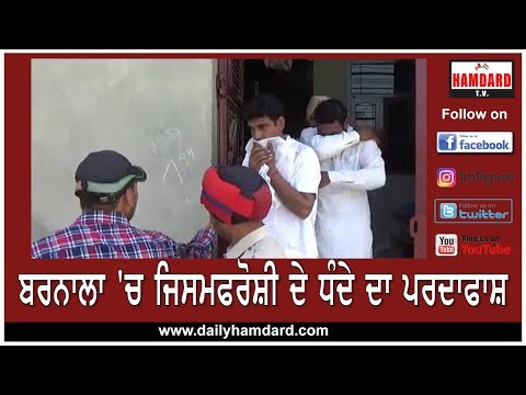 Sex Racket Busted at Barnala , 6 Arrested | Hamdard TV