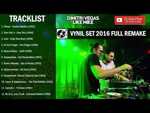 Dimitri Vegas & Like Mike - Vynil Set Tomorrowland Belgium 2016