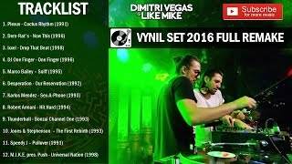 Dimitri Vegas & Like Mike - Vynil Set Tomorrowland Belgium 2016