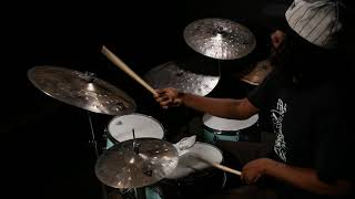 Istanbul Agop XIST Dry Dark And Clap Stack Cymbals Played By Justin Brown