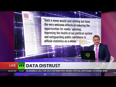 """Ministers getting early access to data is """"pernicious"""" - Royal Stats Society"""