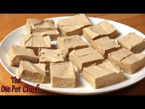 No Bake Coffee Slice | One Pot Chef