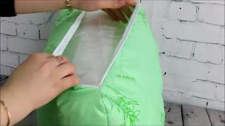 Подушка бамбук Ивтекс37 - видео обзор