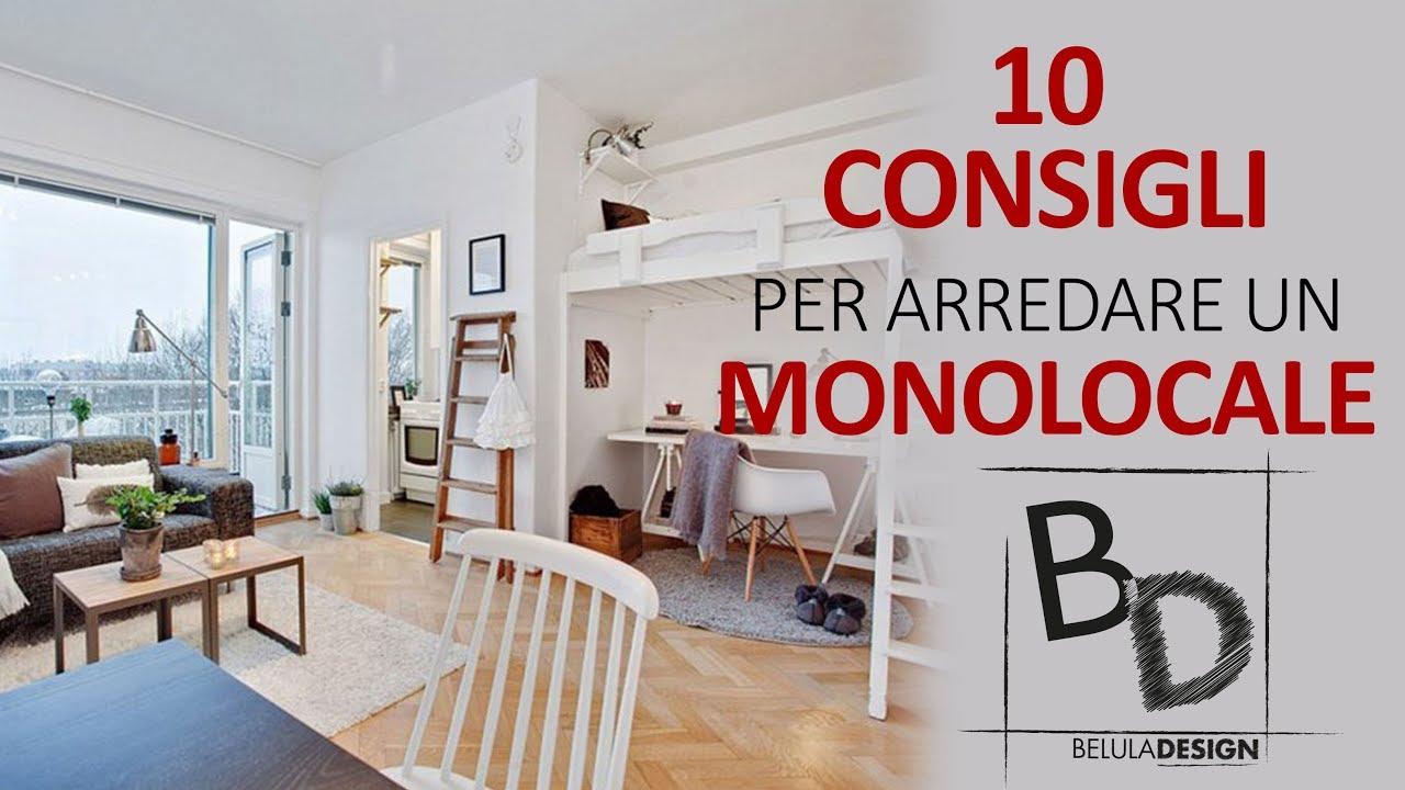 10 consigli per arredare un monolocale belula design youtube