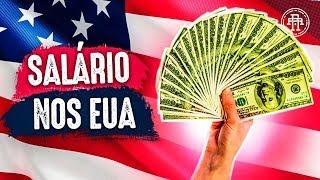 SALÁRIO NOS ESTADOS UNIDOS