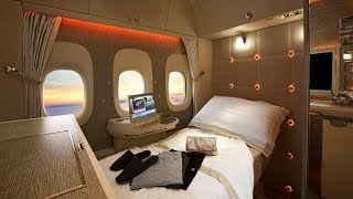 Роскошь и виртуальные иллюминаторы в новом салоне первого класса Boeing 777 (новости)