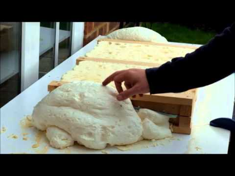 Making Model Aeroplane Wings From Expanding Foam