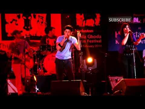 Farhan Akhtar performs at Kala Ghoda Arts Festival 2014