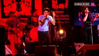 Farhan Akhtar performs at Kala Ghoda Arts Festival 2014