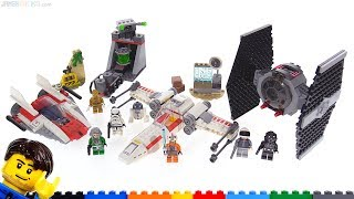 LEGO Star Wars reviews: X-Wing, A-Wing, & TIE Fighter 4+ sets 75235 75237 75247