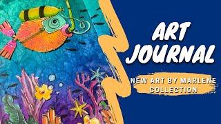 art journal  - NEW Art By Marlene collection !