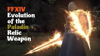 FFXIV Evolution of the Paladin Relic Weapon Feat Alexander Brute Justice Theme