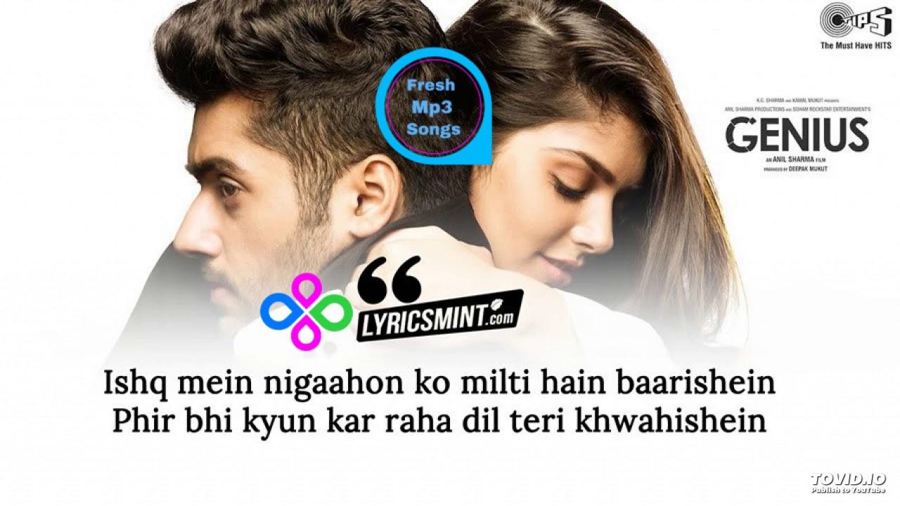 02 Dil Meri Na Sune - Genius | Genius movie, Mp3 song download, Audio songs