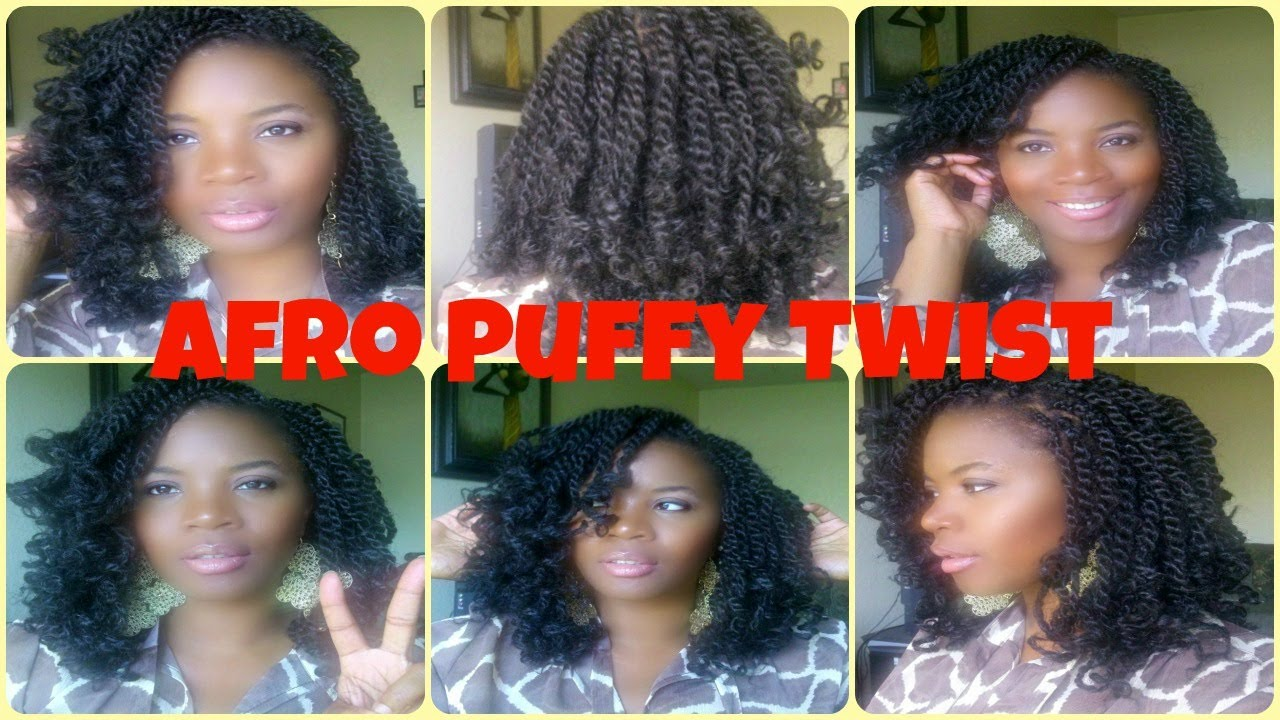 how to| afro puffy/fluffy twist