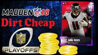 HOW TO GET 95 OVR PLAYOFF PLAYERS FOR DIRT CHEAP! MADDEN 18! MUT 18! (2018)