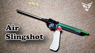Air Slingshot (Airshot) Air gun DIY