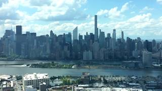 Midtown Manhattan East River LIC View NYC June 2017 HD