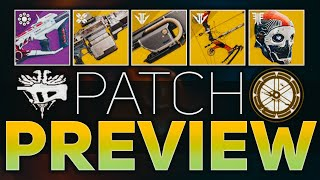 Recluse Nerf, One-Eyed Mask, & Xenophage Changes (Patch Preview + Quest Bug)   Destiny 2 Shadowkeep