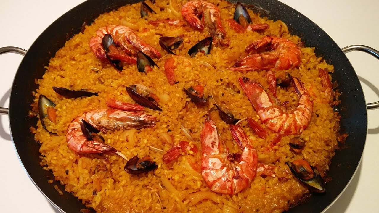 Spanish Paella Recipe Food Network