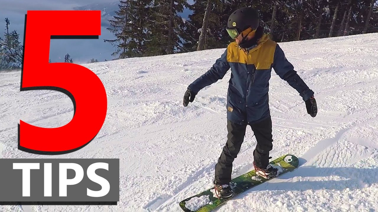 How to Snowboard for Beginners recommend