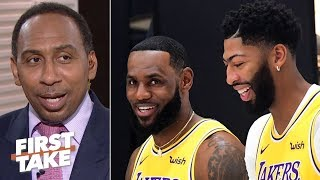 LeBron and AD won't lose to the Clippers, I have to see it to believe it - Stephen A. | First Take Video