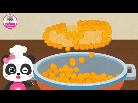 Trò Chơi Nông Trại Của Gấu Trúc Kiki #7 - Cùng Làm Bỏng Ngô Nào | Foci