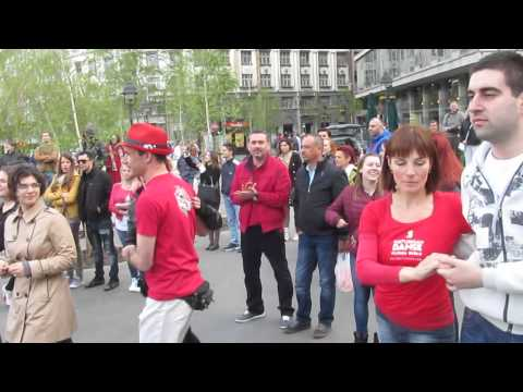 International Rueda de Casino Flash mob - Belgrade Serbia 2015