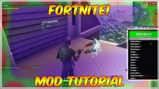 TUTORIAL - HOW TO INSTALL FORTNITE MODS FOR [PS4/XBOX & PC] *NEW*